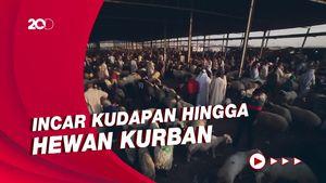 Sambut Idul Adha, Pasar di Irak Dibanjiri Pembeli