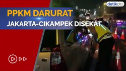 Rute Jakarta-Cikampek Kena Penyekatan, Ini Syarat Perjalanannya
