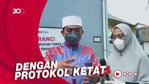 Ustaz Solmed Kurban Sapi di Ciseeng Bogor