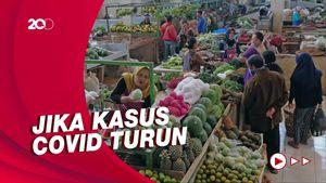 Pasar Tradisional hingga Warung Makan Diizinkan Buka pada 26 Juli