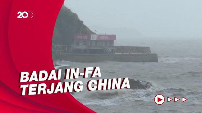 Badai In-Fa Akan Menghantam China