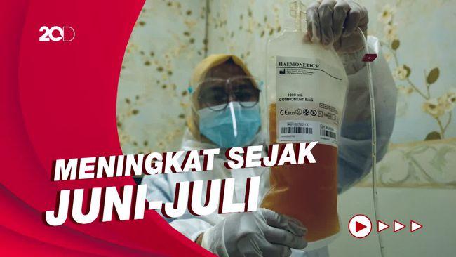 800 Warga Jakarta Antre untuk Mendapatkan Plasma Konvalesen