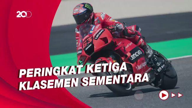 Separuh Musim MotoGP 2021: Bagnaia 3 Kali Podium, Tak Finis Sekali