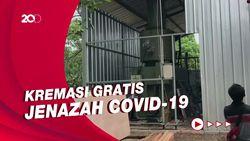Intip Pembangunan Krematorium Gratis Buat Warga di TPU Tegal Alur