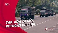 Tak Ada Aksi Jokowi End Game Hari Ini, Jakarta Kondusif