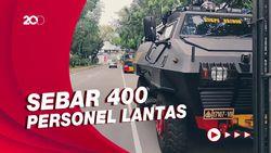 Penutupan Lalin di Monas Situasional Terkait Seruan Demo Jokowi End Game