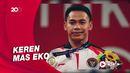 Mantap! Eko Yuli Sabet Perak Olimpiade Tokyo 2020