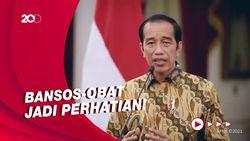 Titah Jokowi untuk Para Menteri Kala PPKM Level 4 Diperpanjang
