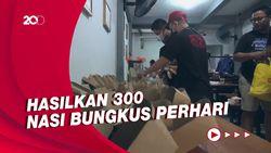 Bantu Warga Terdampak PPKM, Pemuda Semarang Dirikan Dapur Darurat