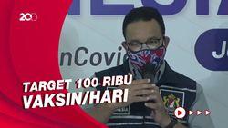 Anies Klaim DKI Sudah Vaksinasi Covid-19 7,1 Juta