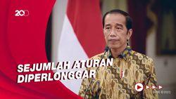 Jokowi Putuskan PPKM Level 4 Dilanjutkan Hingga 2 Agustus
