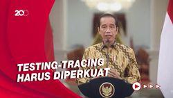 Jokowi: Kita Harus Waspada Kemungkinan Varian Corona Lain yang Lebih Menular