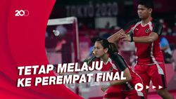 Kalah dari Pasangan Jepang, Praveen/Melati Runner-up Grup C