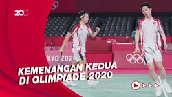 Olimpiade Tokyo 2020: Kalahkan India, Kevin/Marcus Lolos Perempatfinal