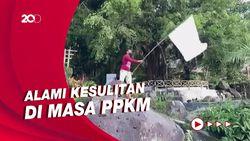 Tempat Wisata Mojokerto Kibarkan Bendera Putih untuk Ketuk Hati Jokowi