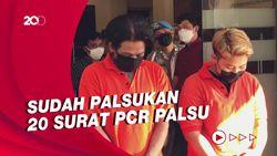 Diciduk Polisi, Penjual Surat PCR Palsu Sudah 3 Bulan Beraksi di DKI