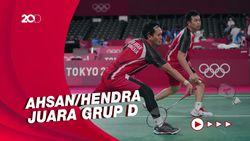 Olimpiade Tokyo 2020: Kalahkan Choi/Seo, Ahsan/Hendra Sapu Bersih Grup D