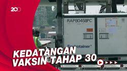 21,2 Juta Dosis Bahan Baku Vaksin Sinovac Tiba di Indonesia
