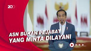 Jokowi Sebut ASN Bergaya Bak Pejabat Kolonial Sudah Tak Zaman