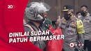 Pelototi Penyekatan di Serang, Kakorlantas Soroti Pemakaian Masker