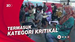 Ribuan Pedagang Pasar Tradisional di Purwakarta Jalani Vaksinasi