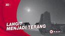 Meteor Besar Jatuh di Norwegia Terekam CCTV
