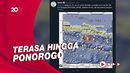 Gempa M 5,2 Guncang Pacitan, Tak Berpotensi Tsunami