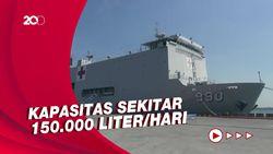KRI dr Soeharso Sandar di Semarang, Penuhi Oksigen Medis untuk Jateng