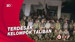 Puluhan Tentara Afghanistan Kabur ke Pakistan
