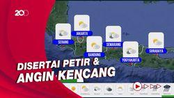 Potensi Hujan Lebat di Sejumlah Wilayah Indonesia