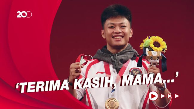 Sang Ibu Bangga Lihat Rahmat Erwin Abdullah Raih Medali Olimpiade