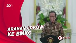 Bencana di RI Terus Meningkat, Jokowi Punya 4 Permintaan ke BMKG