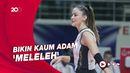 Silaunya Pesona Atlet Voli Turki Zehra Gunes di Olimpiade