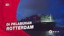 Kapal Ever Given Akhirnya Sampai Tujuan Usai Nyangkut di Terusan Suez