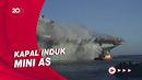 Kebakaran Hebat di Kapal Perang AS, Kru Didakwa jadi Pemicu