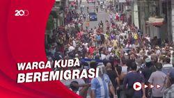 Situasi Kuba Memburuk, Gelombang Eksodus Warga ke AS Meningkat