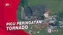 Rumah-rumah di Wisconsin Rusak Parah Diamuk Badai