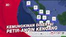 Hari Ini Potensi Hujan Lebat di Beberapa Wilayah