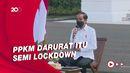 Jokowi: PPKM Darurat Saja Banyak yang Menjerit, Apalagi Lockdown