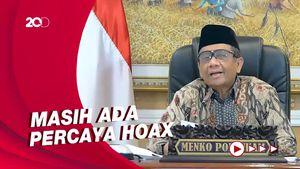 Cerita Mahfud Soal Hoax Konspirasi Corona Hancurkan Islam