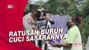Polri Gandeng BEM Nusantara Bantu Warga Terdampak PPKM Level 4