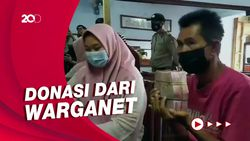 Sujud Pembeli Nasi Padang Goceng Usai Dapat Donasi Rp 108 Juta