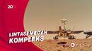 Penjelajahan Rover Zhurong Milik China di Area Bebatuan Mars