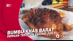 Ayam Panggang ala Rowstid Chikin Dijual di Lapak Bajaj Unik
