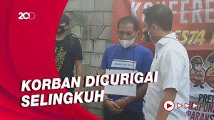 Cemburu Buta, Pria di Bogor Bunuh Janda Penjual Kopi