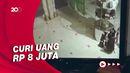 Terekam CCTV! Pura-pura Salat, 2 Pria Bobol Kotak Amal di Masjid Jambi