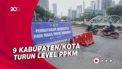 12 Daerah di Jawa-Bali Ini Berubah ke PPKM Level 4
