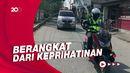Para Pengawal Ambulans Berkuda Besi di Masa Pandemi