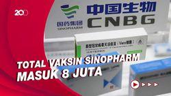500 Ribu Dosis Vaksin Sinopharm untuk Program Gotong Royong Tiba di RI