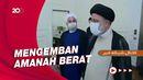 Presiden Baru Iran Diajak Keliling Istana Presiden